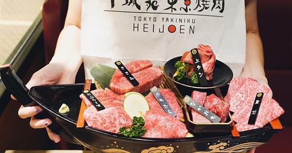 平城苑東京燒肉(微風信義),日本東京必吃人氣燒肉,享受黑毛和牛帶給味蕾的動感!