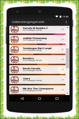 Ost Tendangan Garuda Lengkap 1.0 screenshots 3
