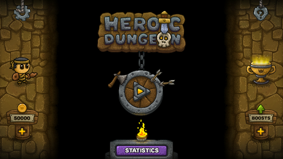 Heroic Dungeon - match 3 - náhled