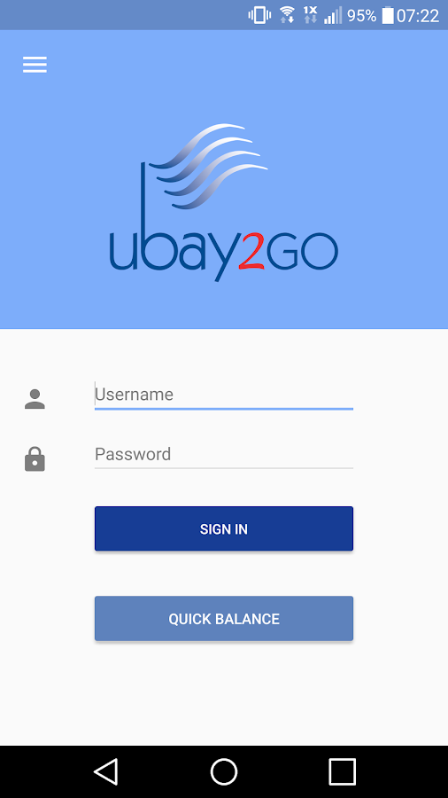 UBAY2Go- screenshot