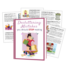 decluttering mistakes printable guide free download