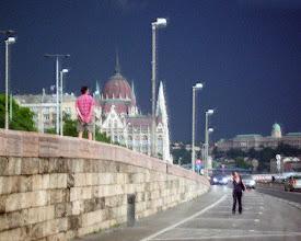 Photo: Burza nad Dunajem, Parlament - 36 pastelowy deszcz