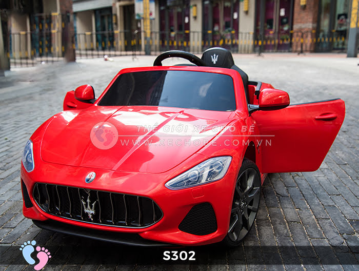 xe oto dien cho be Maserati S302 15
