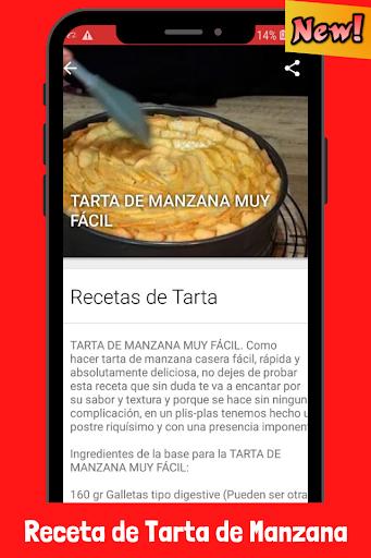 Recetas de Tarta de Manzana fácil screenshot 3