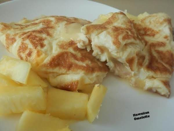 Hawaiian Omelette Recipe