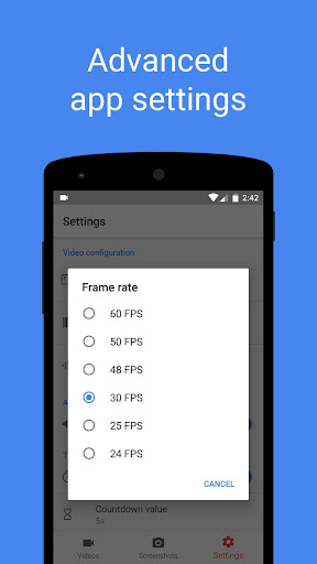 Screen Recorder 4.2.2 screenshots 18