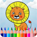 Zoo Animal Coloring Games 2018 icon