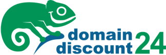 Domain discount logo