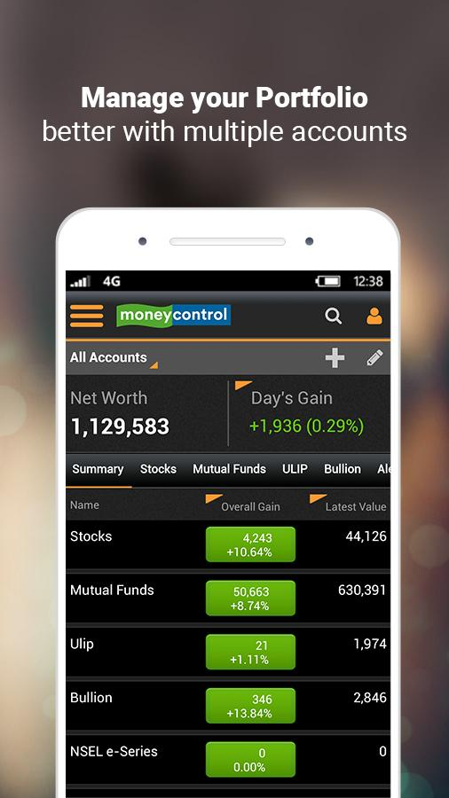 Moneycontrol – Stocks, Sensex, Mutual Funds, IPO Screenshot 5