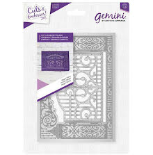 Crafters Companion 5x7 Cut and Emboss Folder - Regal Gates