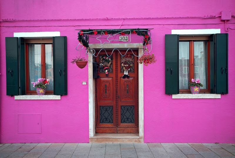 Burano in rosa di -JOKER-
