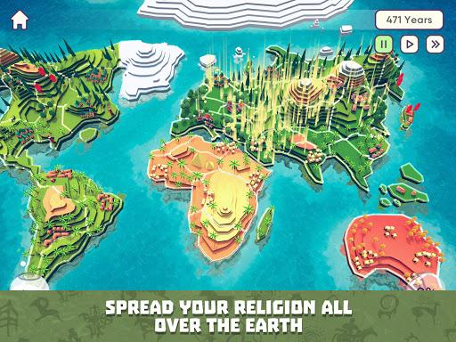 God Simulator. Sandbox strategy game Religion Inc. apkpoly screenshots 10