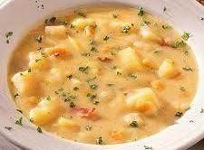 Roasted Garlic Potato Soup Recipe