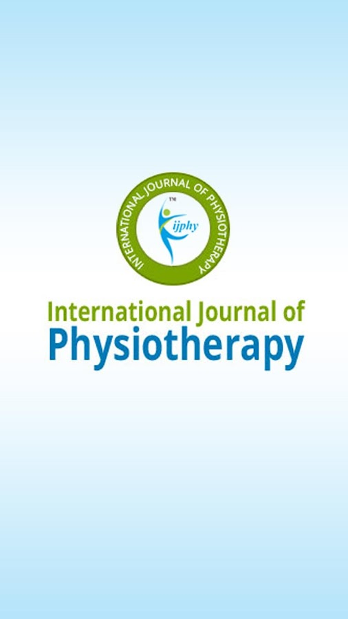 Physiotherapy Journal (IJPHY)- screenshot