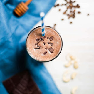 Bone Broth Protein Mocha Fudge Smoothie