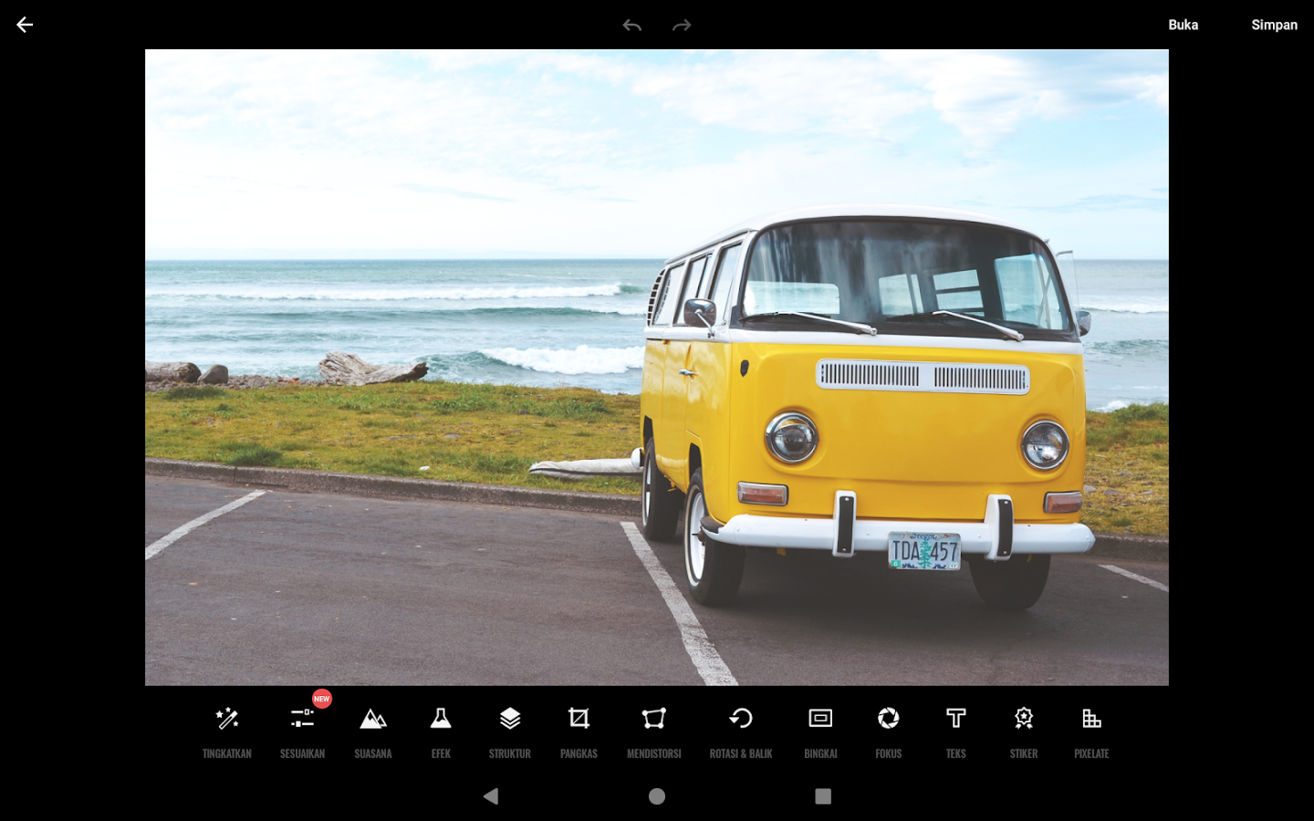 Fotor Photo Editor – Editor Foto & Kolase Foto- screenshot
