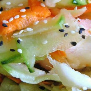 Pickled Asian Ginger Salad