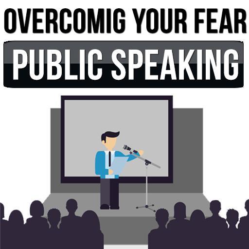 Get over public speaking fears