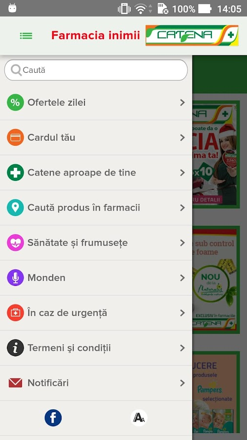 Catena - Farmacia Inimii- screenshot
