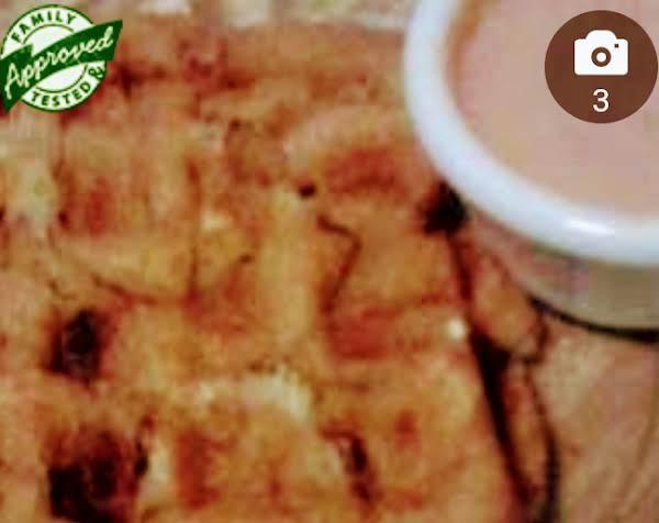 Waffled Onion Rings