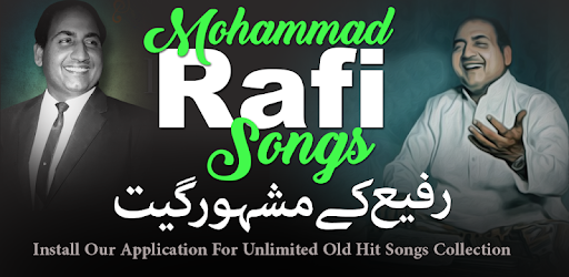 Mohammad Rafi Old Songs - Apps on Google Play