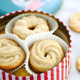 Vanilla Danish Butter Cookies.