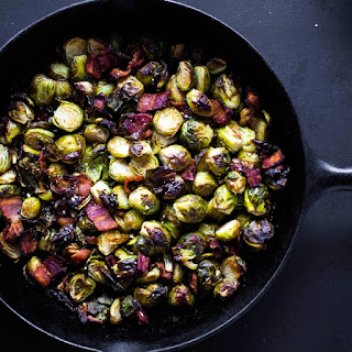 Crispy Bacon Brussels Sprouts