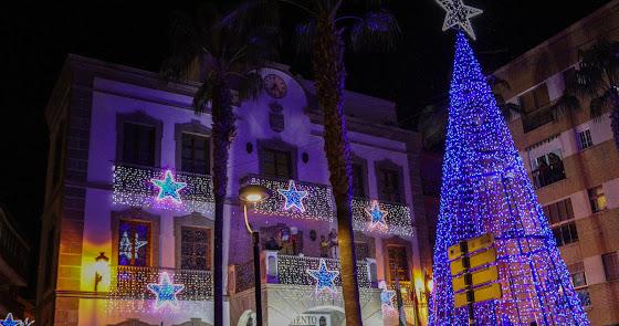Sale a licitación la iluminación de Feria y Navidad de Adra para este 2021