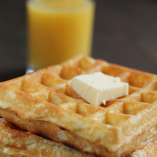 Homemade Buttermilk Waffle