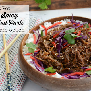 Instant Pot Sweet 'n Spicy Asian Pulled Pork.
