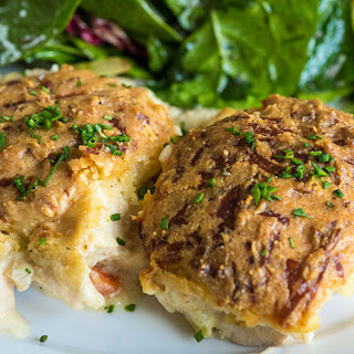 Cheddar Bay Biscuit Chicken Casserole.