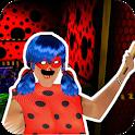 Lady-bug Granny   2: Scary Game halloween Mod 2019 icon