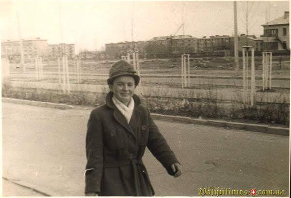 Пр. Правди поч 60х років. Фото від С. Ткачев.