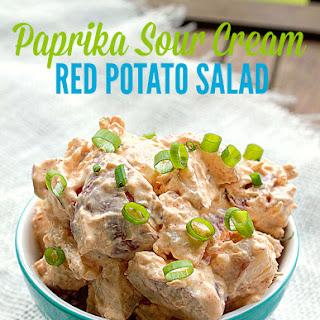 Paprika Sour Cream Red Potato Salad