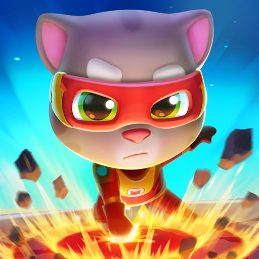 Talking Tom Hero Dash - Run Game Icon