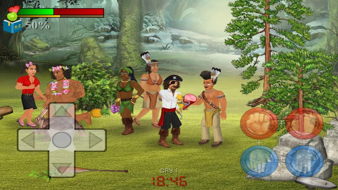 Wrecked (Island Survival Sim) screenshot 2