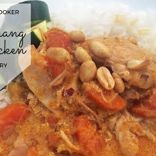 Slow Cooker Penang Chicken Curry.