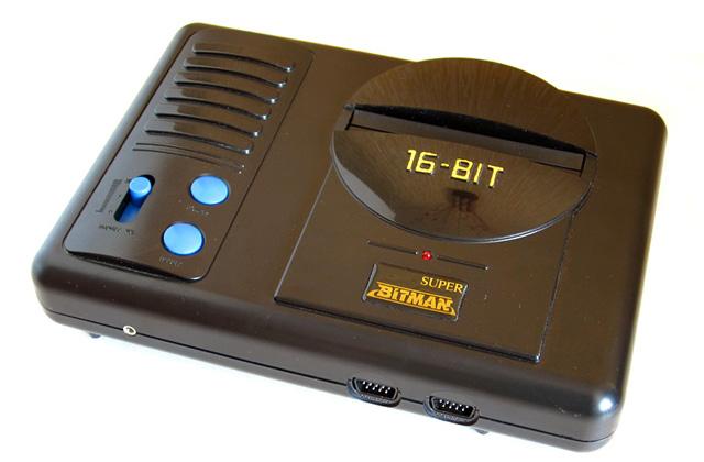 Игровая приставка Bitman (Sega 16-bit)