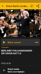 Digital Concert Hall Screenshot 3