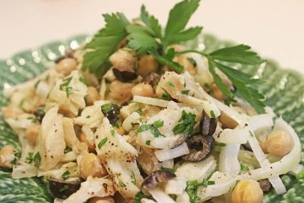 Bacalhau Chickpea Salad