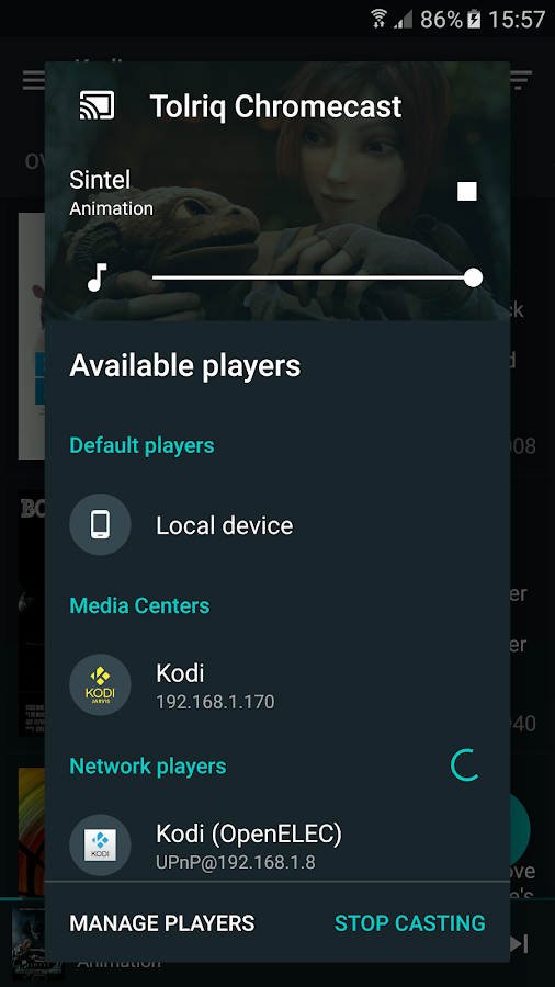 Yatse: Kodi remote- screenshot