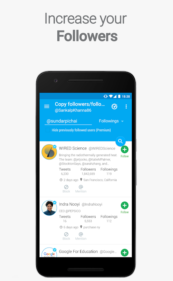 Statusbrew for Twitter growth- screenshot