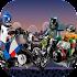 Moto Rider: Super Heroes