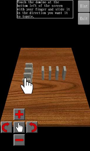 3D Domino Toppling filehippodl screenshot 1