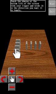3D Domino Toppling 1