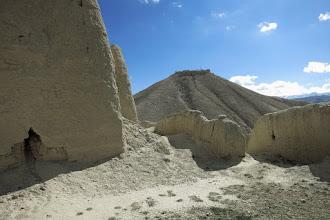 Photo: A la gompa du Singe Noir (vue sur le fort d'Ame Pal)