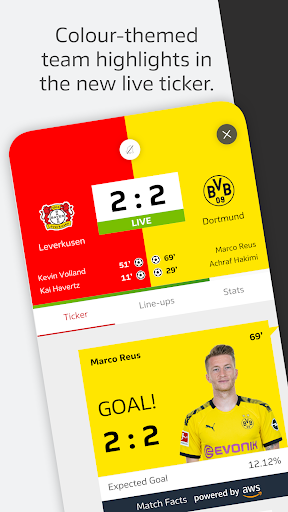 BUNDESLIGA - Official App 3.9.3 Screenshots 5