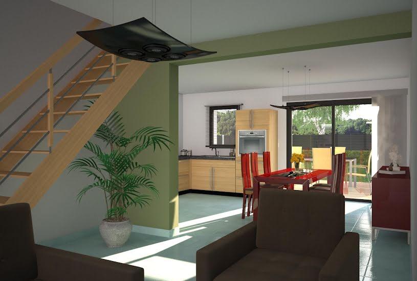 Vente Terrain + Maison - Terrain : 600m² - Maison : 90m² à Sonzay (37360)