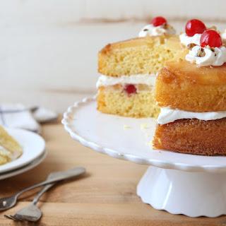 Pineapple Upside-Down Layer Cake Recipe