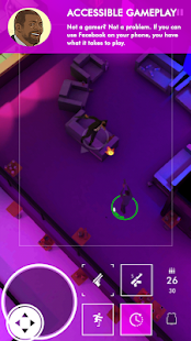 Neon Noir - Mobile Arcade Shooter Screenshot